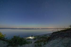 Good Spirit Lake Sand Dunes at Night